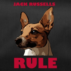 Jack russels rule red - Duffel Bag