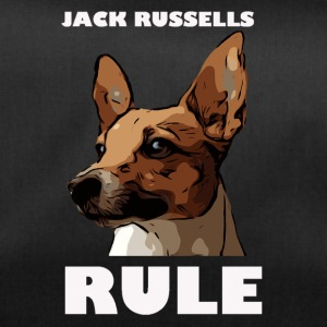 Jack russels rule white - Duffel Bag