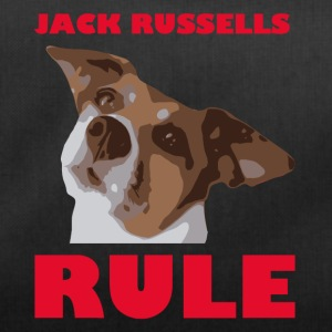 Jack russels rule2 red - Duffel Bag
