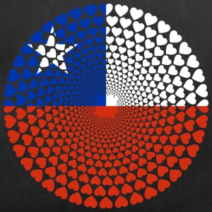 Chile Love Heart Mandala - Sportväska
