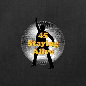 staying alive logo - Duffel Bag