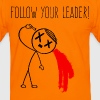 Follow Your Leader - Männer Kontrast-T-Shirt