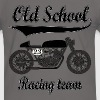 Old school motorcycles vintage team - Men's Ringer Shirt
