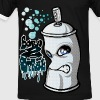 Spray and graffiti - T-shirt contrasté Homme