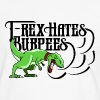 T Rex Hates Burpees - Men's Ringer Shirt