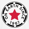 on earth since 1967 (fi) - Miesten kontrastipaita