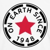 on earth since 1948 (nl) - Mannen contrastshirt