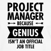 Project Manager - Genius - Camiseta contraste hombre