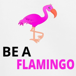 Be A Flamingo Black - Kids' Premium Hoodie