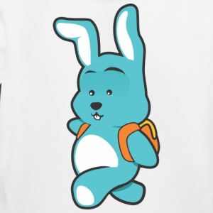 blue baer with backpack - Kids' Premium Hoodie
