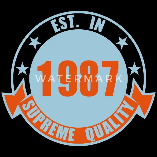 1987 Supreme Premium hettegenser barn   Spreadshirt