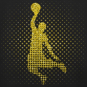 Golden Basketball Player - Gold Basketball Player - Kids' Premium Hoodie