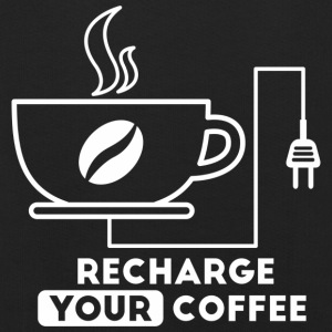 Recharge your coffee - Kids' Premium Hoodie