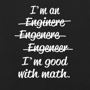 Im an Engineer - goodwith math - Kinder Premium Hoodie