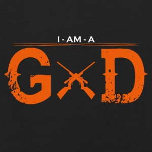 I AM GOD legend jagen jaeger - Kinder Premium Hoodie