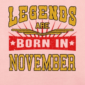 Legends are born in November Legenden Shirt - Kinder Premium Hoodie