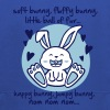soft bunny, fluffy bunny, little ball of fur... - Kids' Premium Hoodie