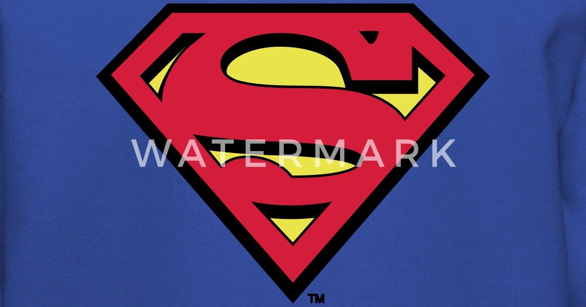 13b30fee Superman Logo Kids Hoodie Premium hettegenser barn | Spreadshirt
