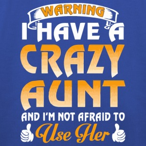 Warning I have a crazy Aunt shirt - Kids' Premium Hoodie