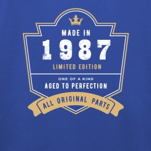 Made in 1987 Limitierte Edition Alle Originalteile - Kinder Premium Hoodie