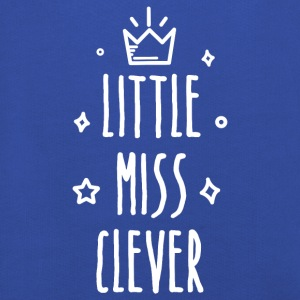 Little miss Clever - Premium-Luvtröja barn