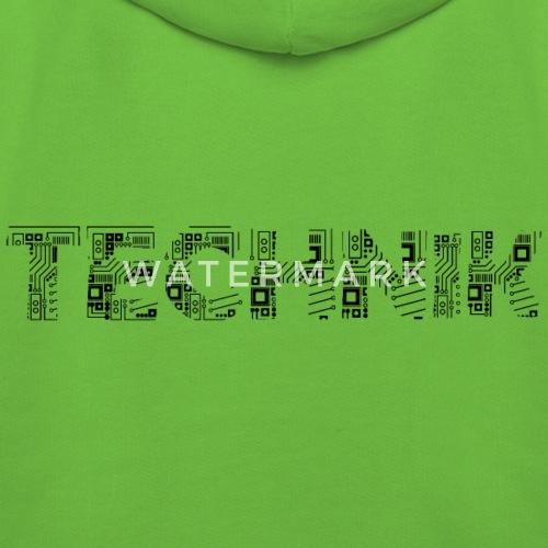 Technik in Platinenschrift von Bohnenkern | Spreadshirt