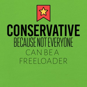 Conservative because not everyone is freeloader - Kids' Premium Hoodie