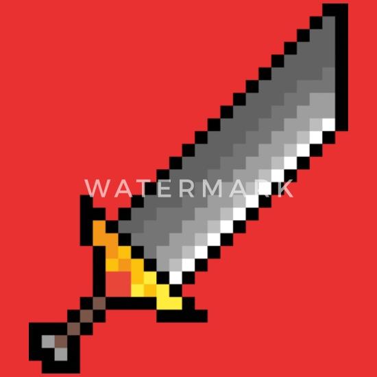 épée Géante Pixel Art Sweat à Capuche Premium Enfant