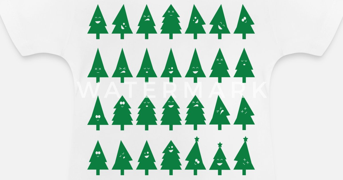 Weihnachtsbaum In Smileys Baby T Shirt Spreadshirt