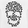 Skull full of cats - Baby T-Shirt