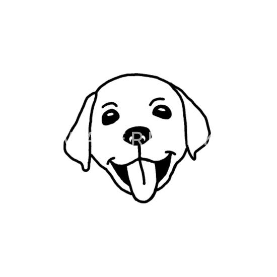 Labrador Chien Chiot Tete Dessin T Shirt Bebe Spreadshirt