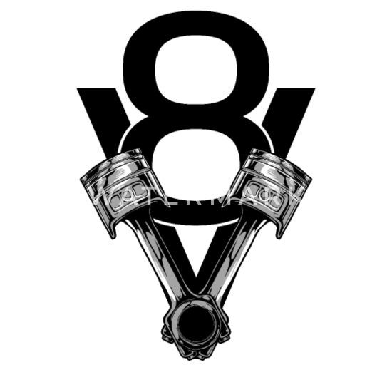 V8 Engine Piston Flathead Tuning Engine Block Baby T Shirt
