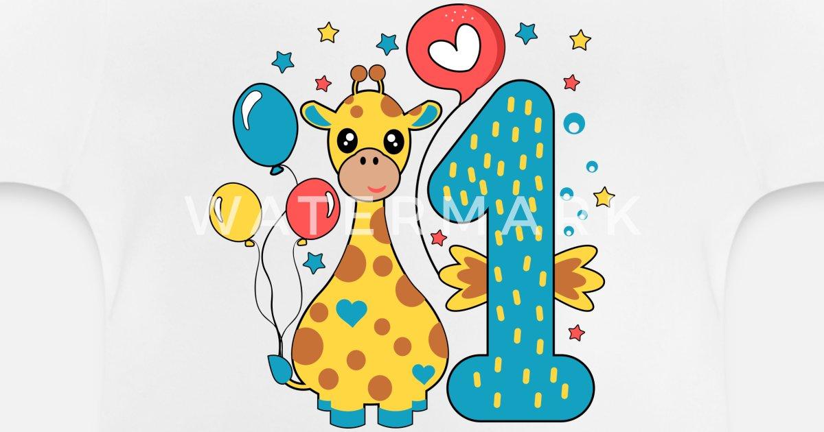 erster Geburtstag 1. ein Jahr Junge Geschenk Body Baby T