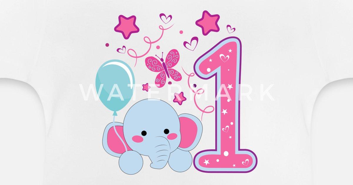 erster Geburtstag 1. Geburtstag ein Jahr Geschenk von Melia321 ...