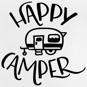 Camping: Happy Camper - Baby T-Shirt
