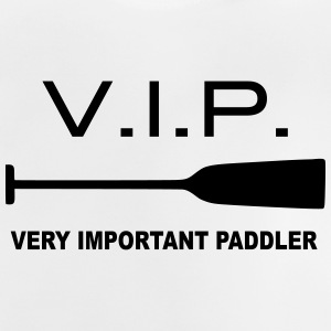 VIP Very Important Paddler Dragon Boat Canoe 1c - Baby T-Shirt