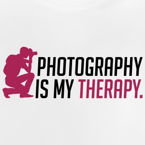 Photography is my therapy - Baby T-Shirt