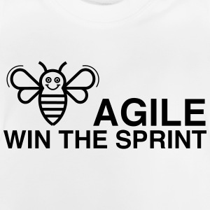 BE AGILE WIN Sprint - Baby-T-shirt