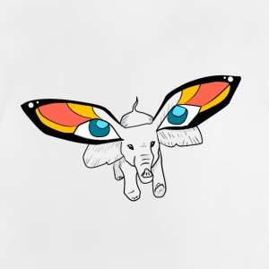 Butterfly Elephant - Baby T-shirt