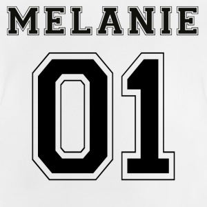 Melanie 01 - Black Edition - Baby-T-shirt