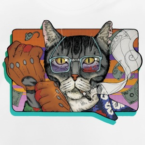 brott Cat - Baby-T-shirt