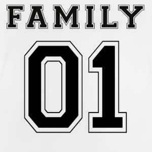 FAMILY 01 - Black Edition - Baby T-Shirt