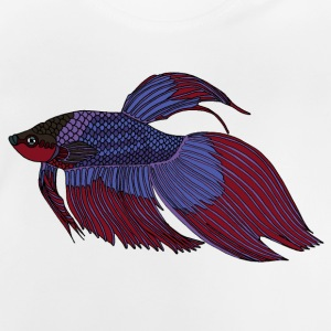 fishcoloured - Baby-T-shirt