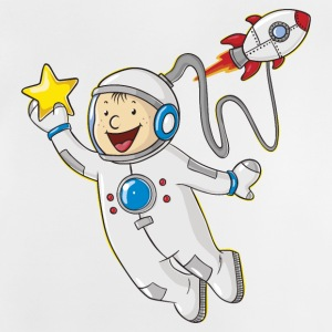 Little cartoon astronaut - Baby T-shirt