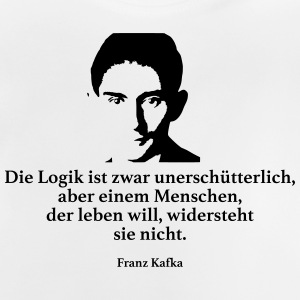 Kafka: The logic is unshakeable, though - Baby T-Shirt