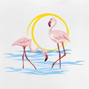 Flamingos - Baby T-Shirt