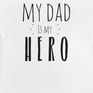 Min far er min Hero - Baby T-shirt