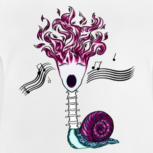 Flame songs backbone-snail - Baby T-Shirt