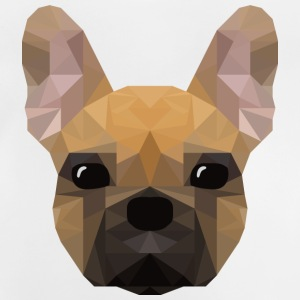 French Bulldog - low poly style - Baby T-Shirt