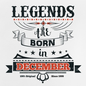 Legends born born birthday gift Young - Baby T-Shirt